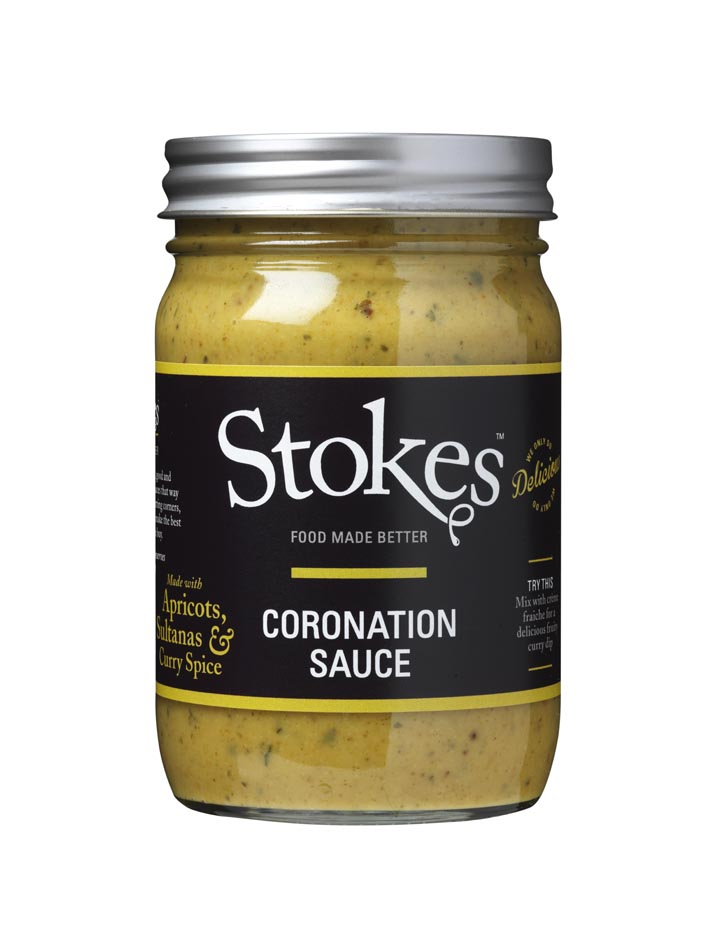 Coronation Sauce large jar.Low res